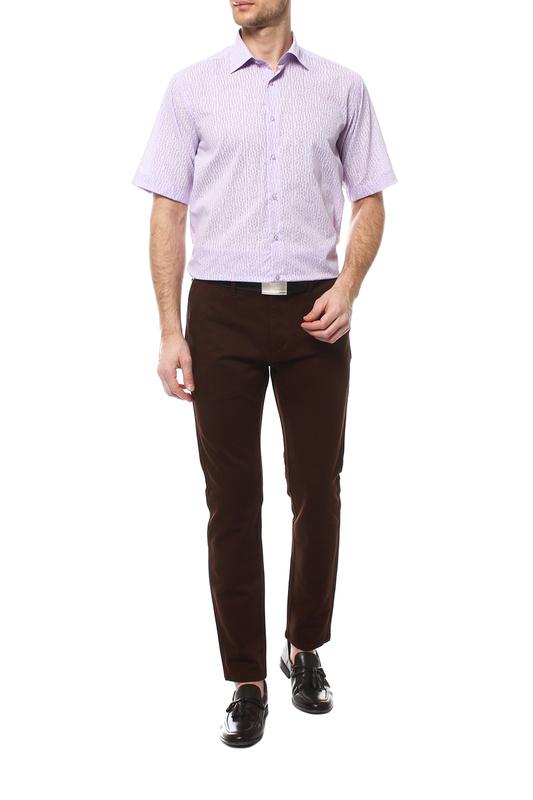 Рубашка мужская FAYZOFF-SA 1555К-93 фиолетовая XL-43-44