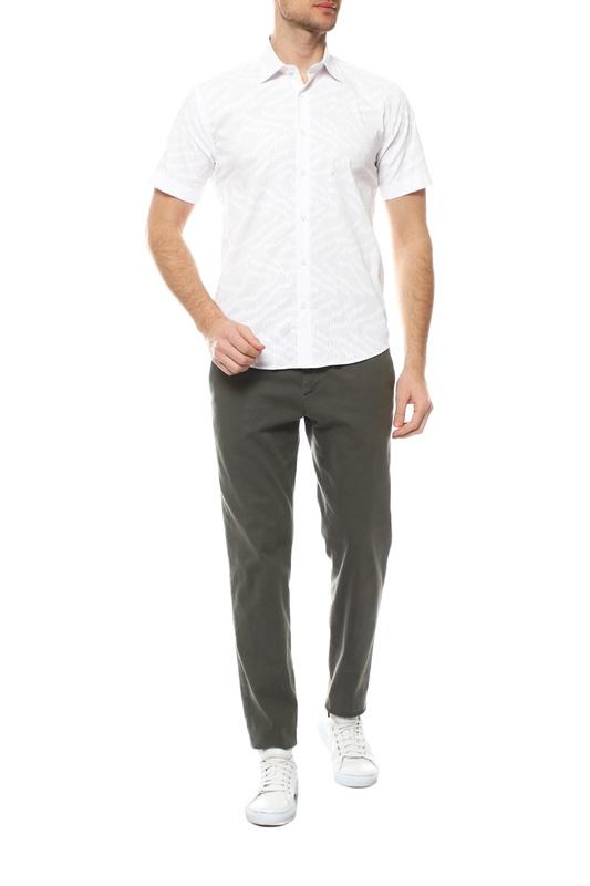 Рубашка мужская FAYZOFF-SA 1501S-01 белая L-41-42