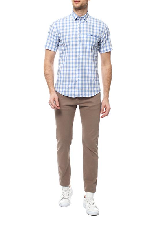 Рубашка мужская FAYZOFF-SA 1265SК-43 голубая L-41-42