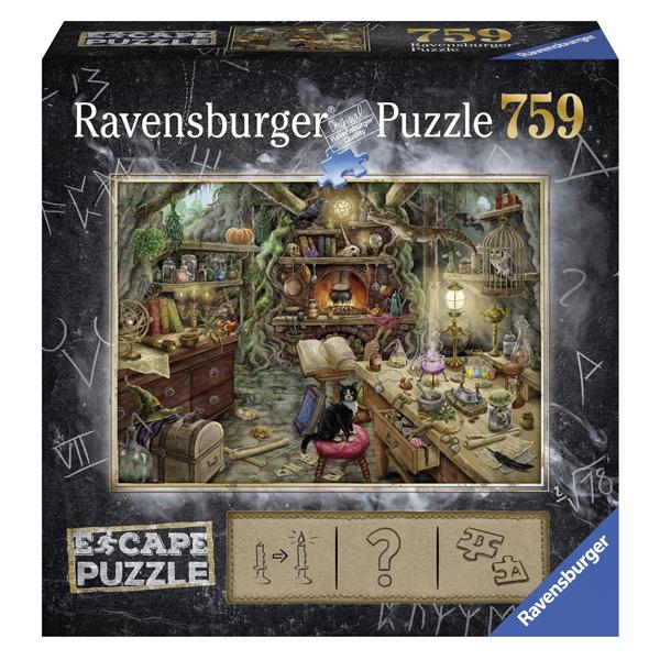 Пазл-квест Ravensburger Кухня ведьм, 759 эл. R19958
