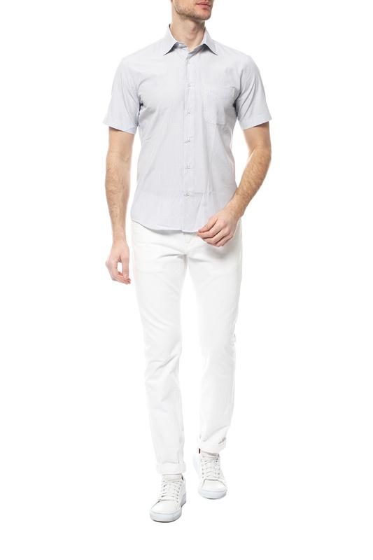 Рубашка мужская FAYZOFF-SA 1258SK-71 серая S-37-38