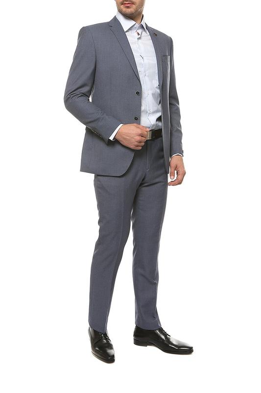 Рубашка мужская FAYZOFF-SA 1258S-41 голубая XL-43-44