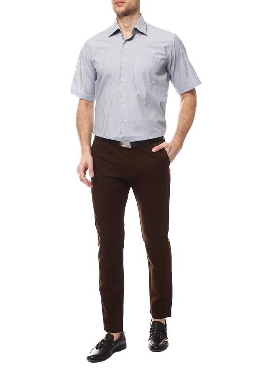 Рубашка мужская FAYZOFF-SA 1255К серая M-39-40