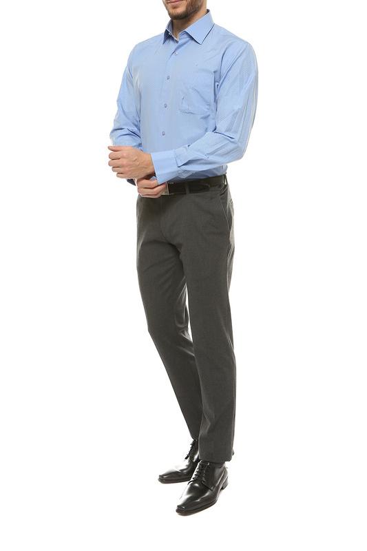 Рубашка мужская FAYZOFF-SA 1252-47 синяя L-41-42