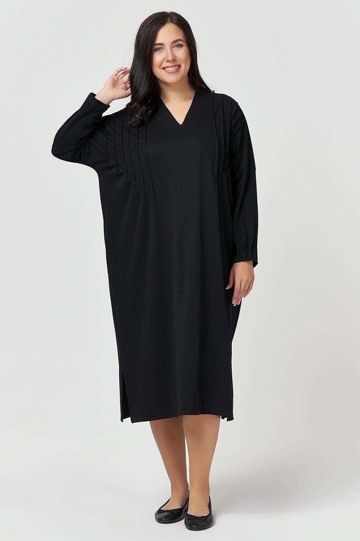 Платье женское OLSI 2005032 черный 60-62 RU