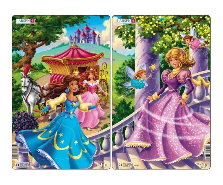 Пазл Larsen принцессы 11 деталей