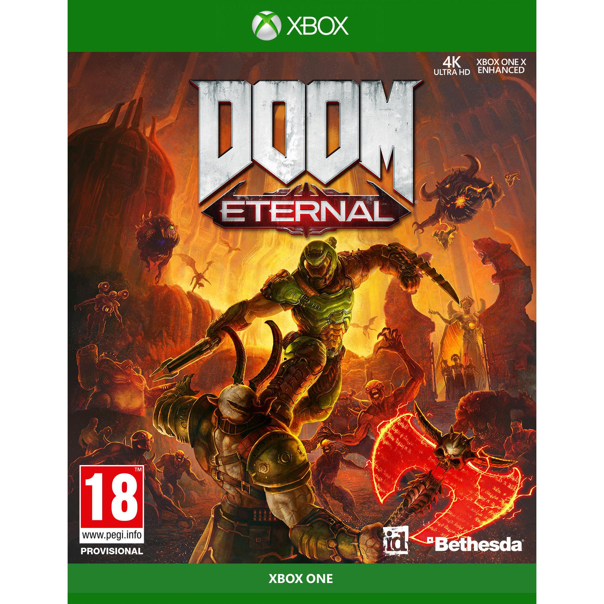 Игра DOOM Eternal для Xbox One Bethesda