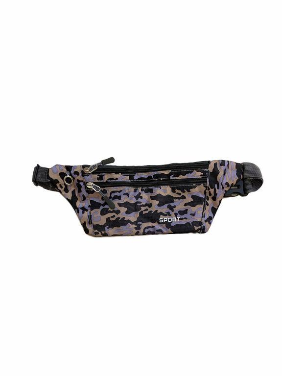 Спортивная сумка Tiko 1806 мелкий камуфляж серая
