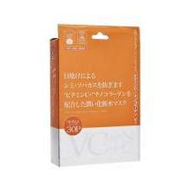 Маска для лица Japan Gals Витамин С + Нано-коллаген 30шт