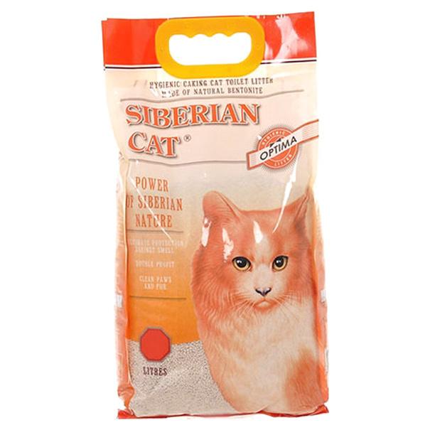 Комкующийся наполнитель для кошек Сибирская кошка Оптима