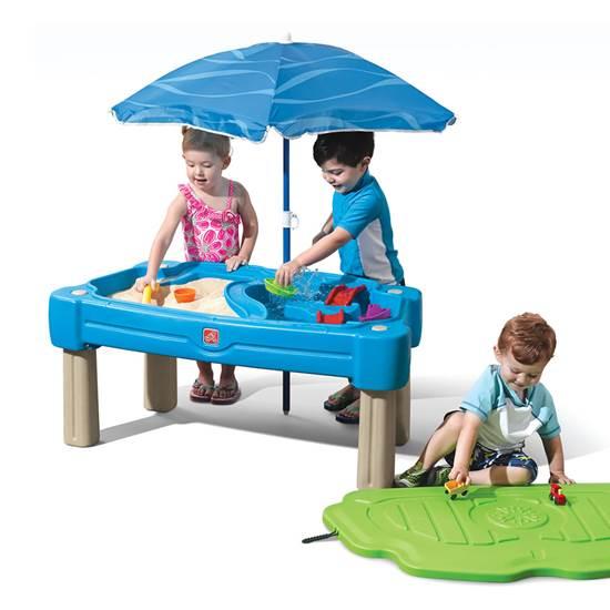 Столик для игр с песком и водой Step 2 синий