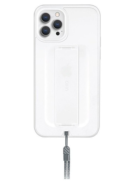 Чехол Uniq HELDRO + Band DE Anti-microbial iPhone 12/12 Pro, Прозрачный