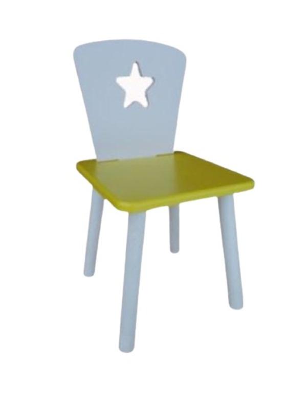 Стул детский Маленькая Страна Звезда Желтый