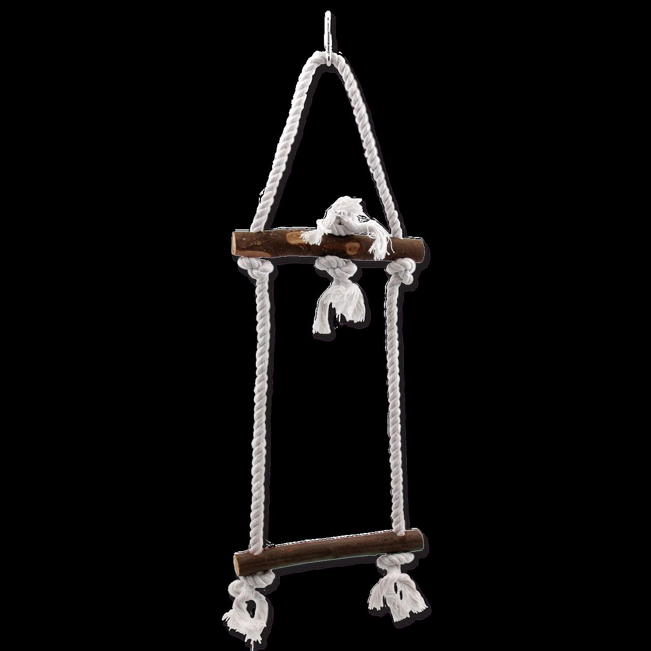 Лестница для птиц Bird Jewel, дерево, джут,
