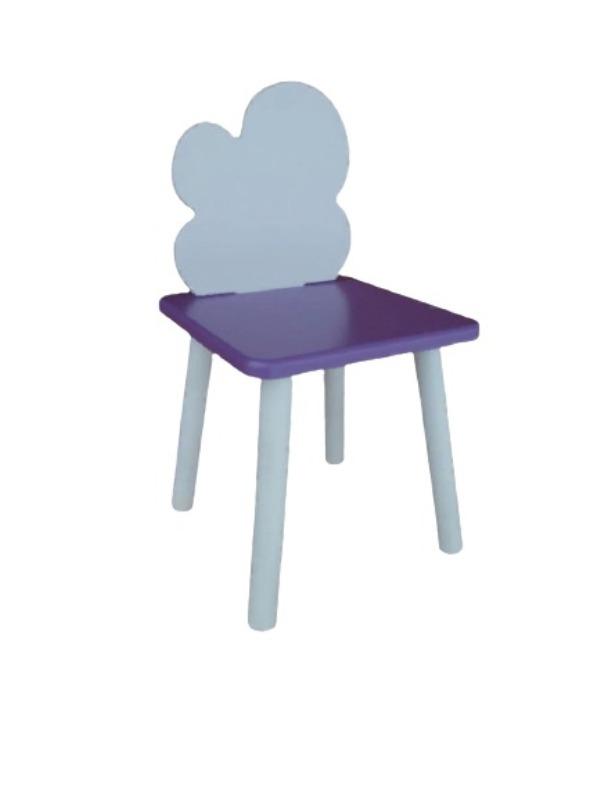 Стул детский Маленькая Страна Облако Фиолетовый