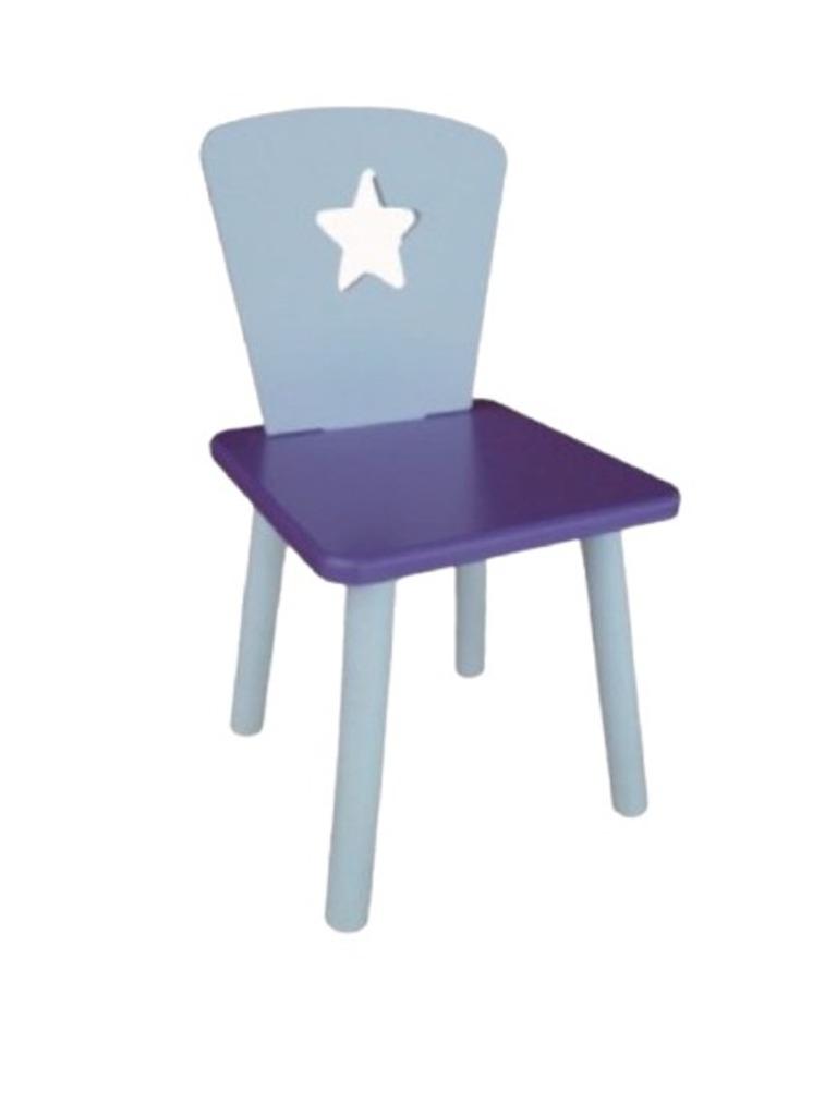 Стул детский Маленькая Страна Звезда Фиолетовый