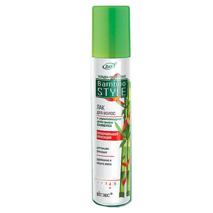 Лак для волос Vitex Bamboo Style