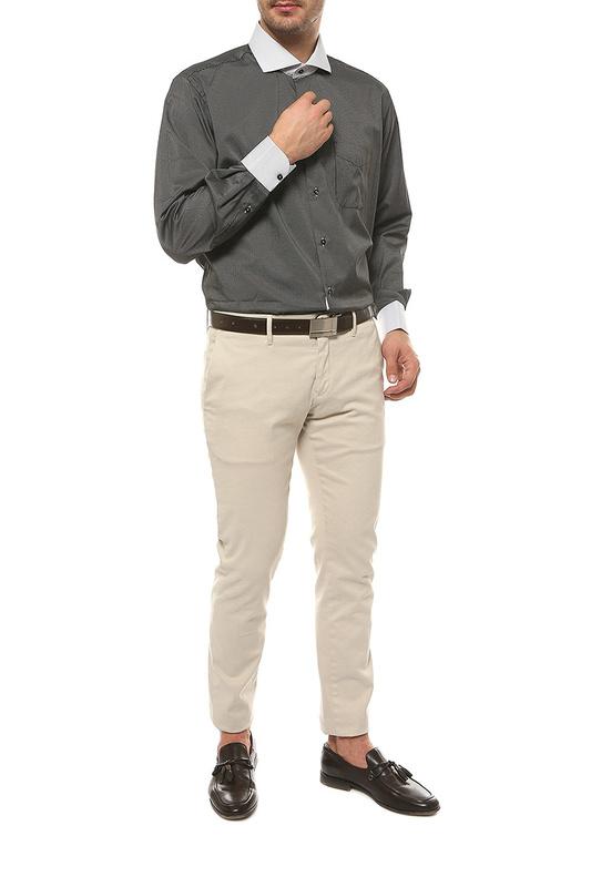 Рубашка мужская FAYZOFF-SA 1207А-72 черная XL-43-44