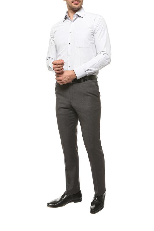 Рубашка мужская FAYZOFF-SA 1207S белая XL-43-44