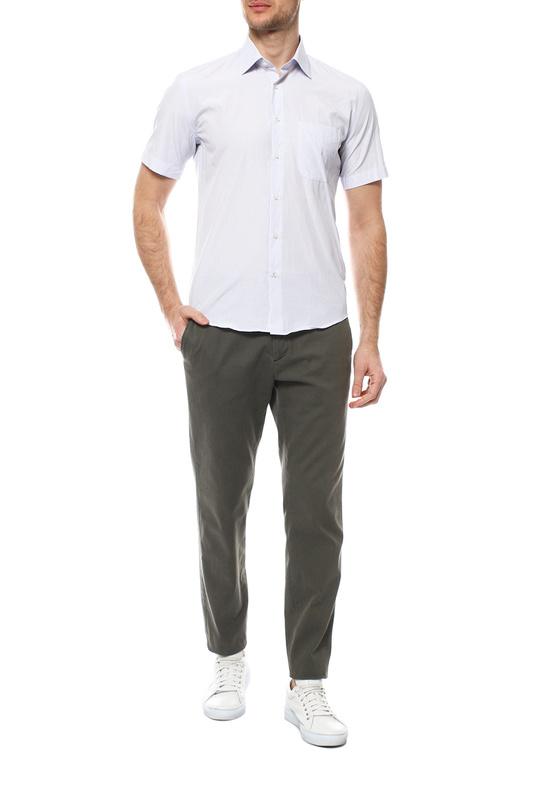 Рубашка мужская FAYZOFF-SA 1203SК-64 белая L-41-42