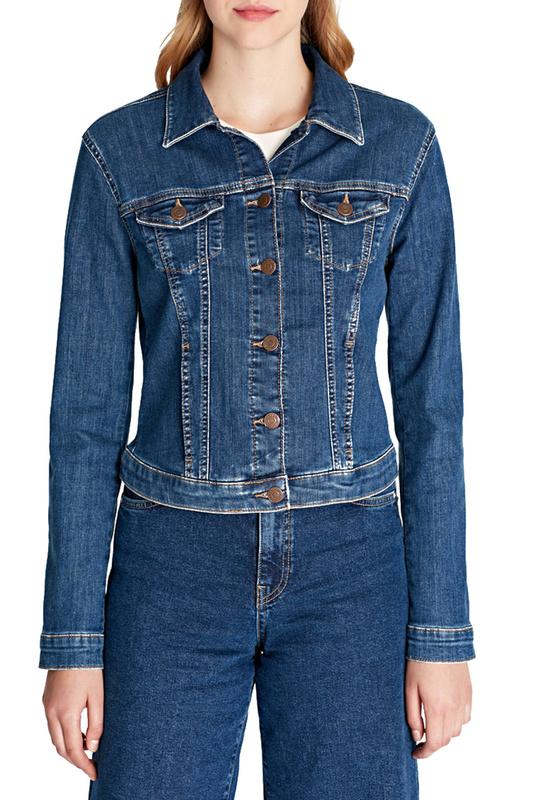 Джинсовая куртка женская Mavi 1174128084 синяя XS
