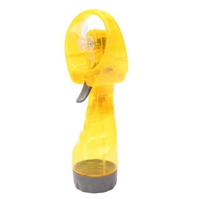 Вентилятор с пульверизатором WATER SPRAY FAN Yellow