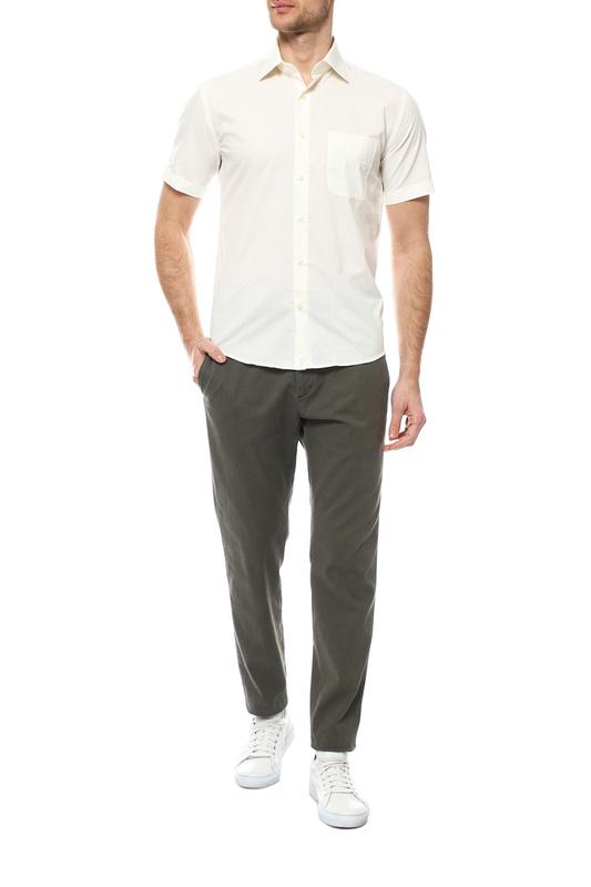 Рубашка мужская FAYZOFF-SA 1070S бежевая M-39-40