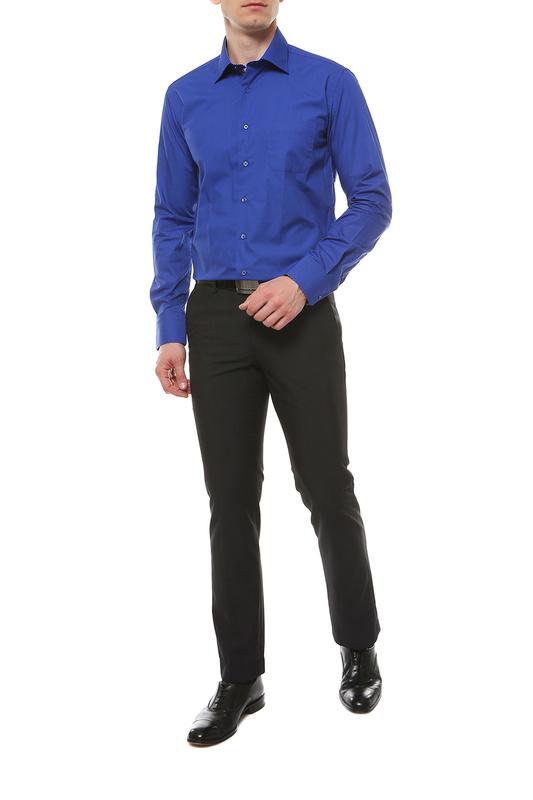 Рубашка мужская FAYZOFF-SA 1025S синяя L(41-42)