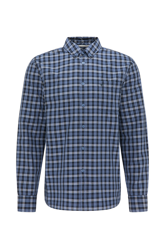 Рубашка мужская Mustang 1010399-11874 синяя M