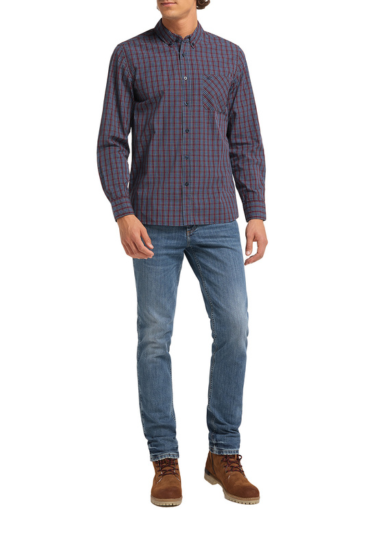 Рубашка мужская Mustang 1010394-11871 синяя M