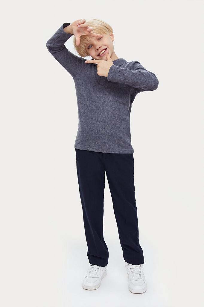 Купить KA20-86004M, Рубашка для мальчиков Finn-Flare цв. серый р-р. 128, Finn Flare,