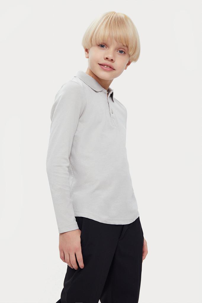 Купить KA20-86005M, Рубашка для мальчиков Finn-Flare цв. серый р-р. 122, Finn Flare,