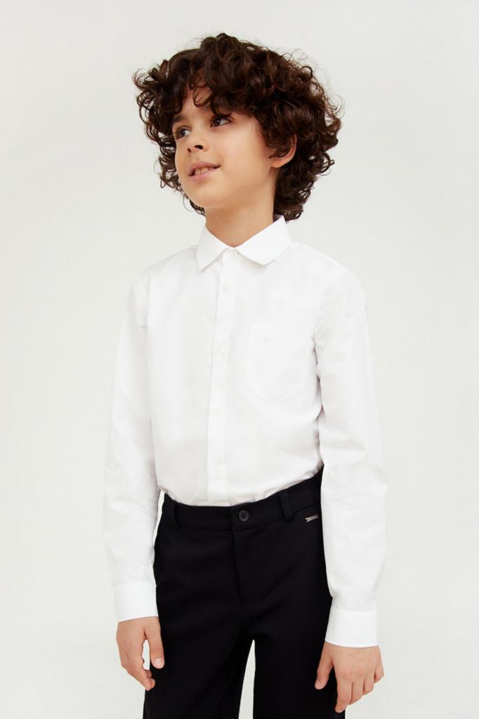 Купить KA20-86001, Рубашка для мальчиков Finn-Flare цв. белый р-р. 140, Finn Flare,