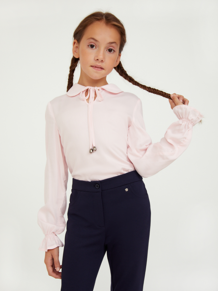 Купить KA20-76001, Блузка для девочек Finn-Flare цв. розовый р-р. 134, Finn Flare,