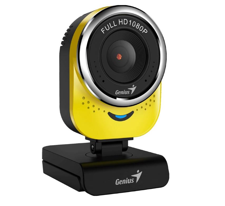 Веб-камера Genius QCam 6000 Black/Yellow
