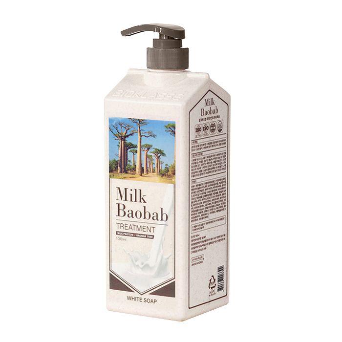 Купить Бальзам для волос MilkBaobab Perfume Treatment White Soap (500 мл), MILK BAOBAB