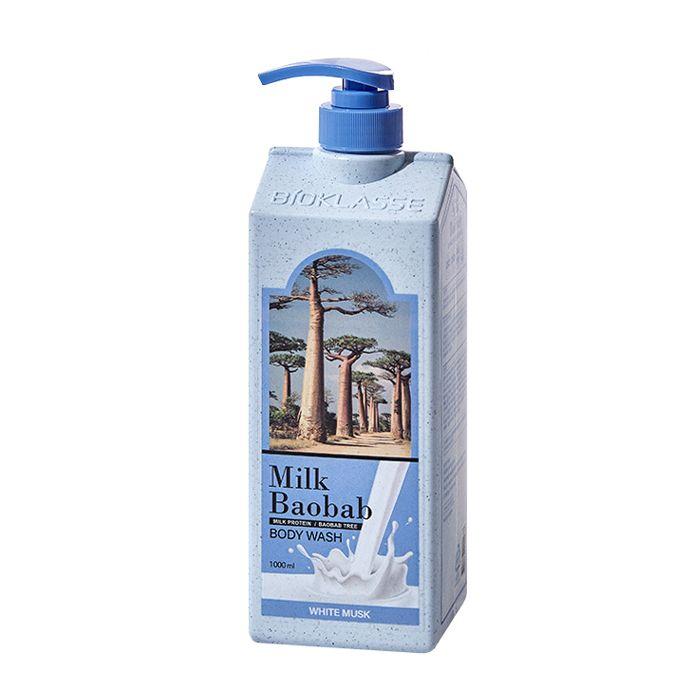 Купить Гель для душа MilkBaobab Perfume Body Wash White Musk (500 мл), MILK BAOBAB