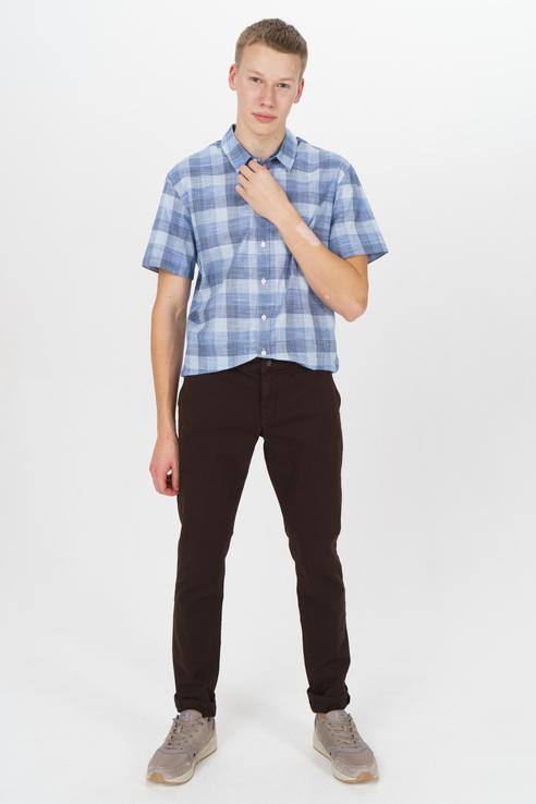 Рубашка мужская Tom Farr T M7021.31 (804-1-coll) голубая 48