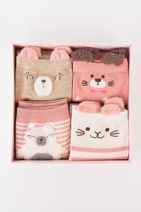 Набор носков женских Kawaii Factory KW009-000469 разноцветных 36-38