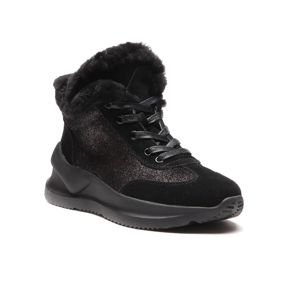 Ботинки женские Vitacci 60402M черные 36 RU