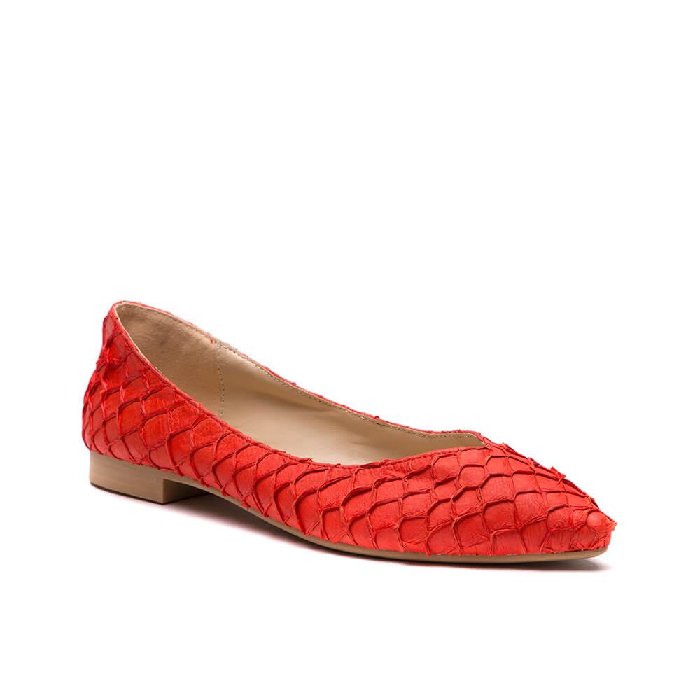 Балетки женские Vitacci 145386 красные 36 RU