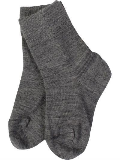 Купить 9WURU-003/21, Носки для мальчиков Norveg серый 7-9,