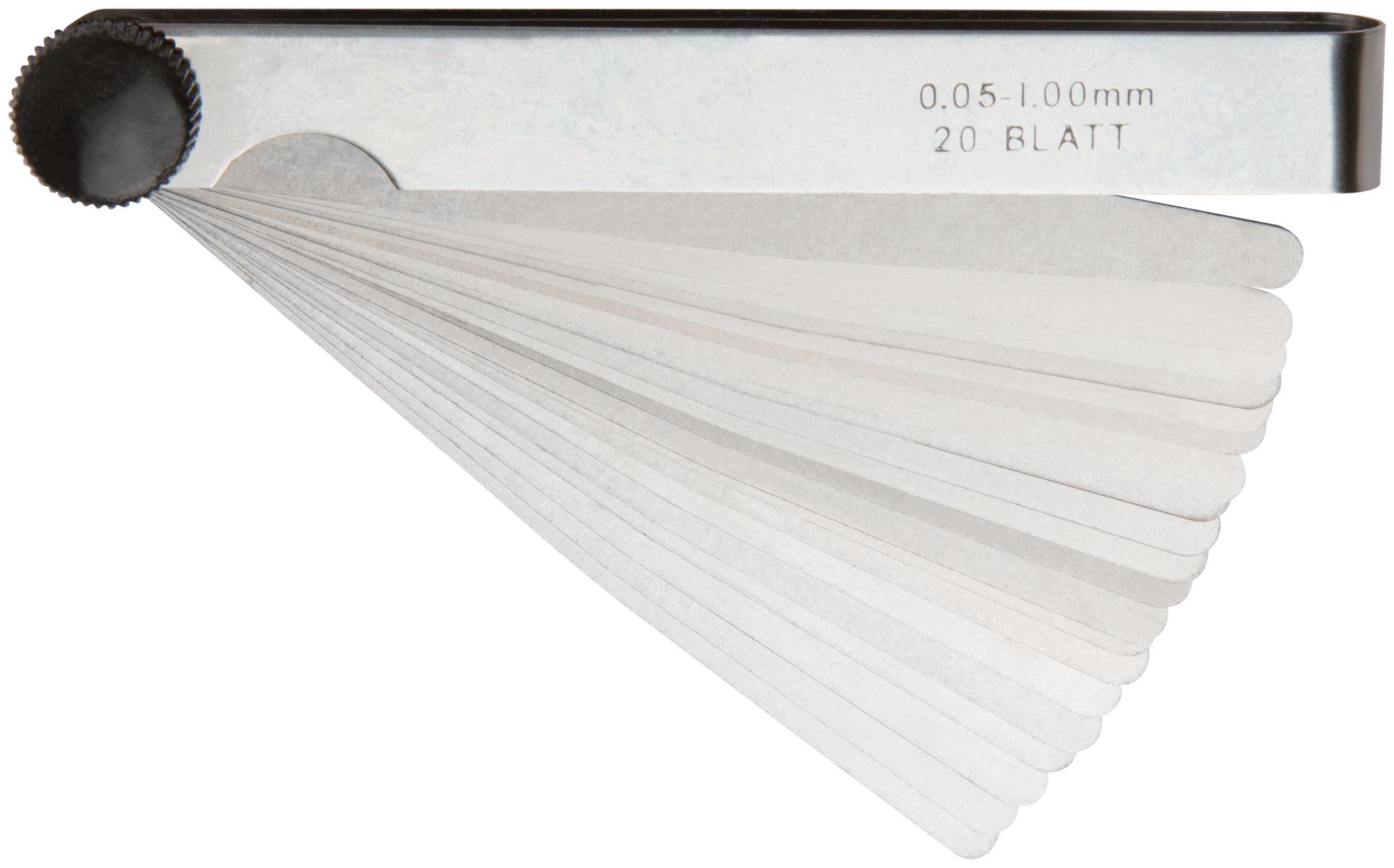Щупы измерительные 20 шт, 0,05 1,00