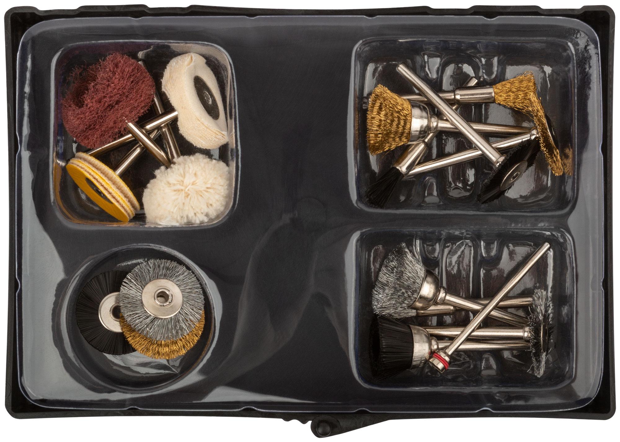 Набор корщетки/шарошки в чемоданчике  17