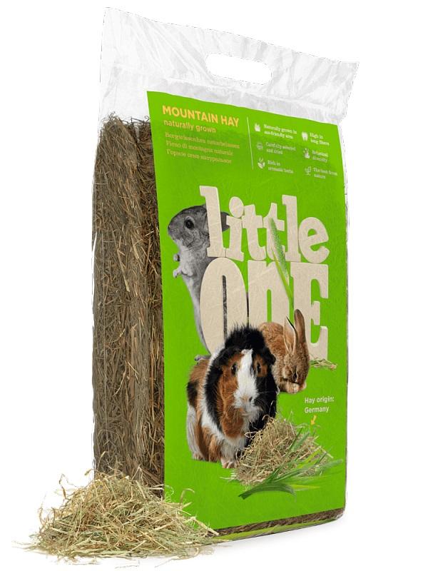 Сено для грызунов Little One Mountain Hay, горное,