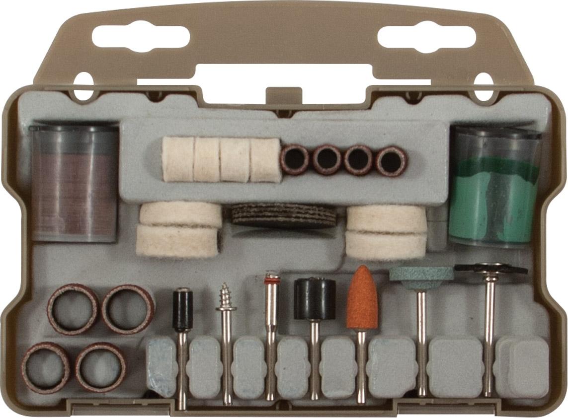 Набор корщетки/шарошки в чемоданчике  64