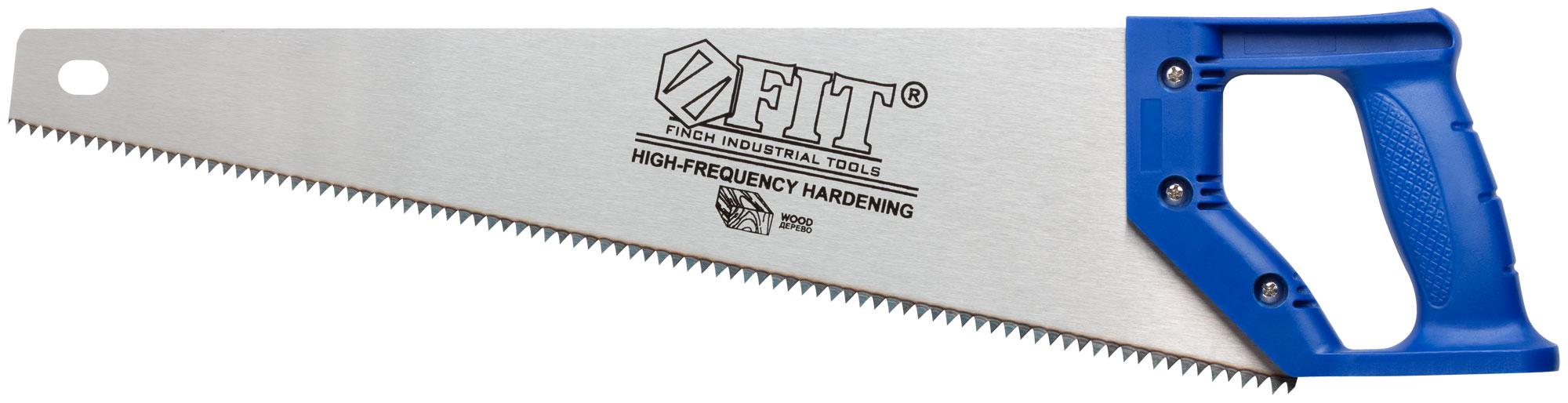 Ножовка по дереву, 450 мм, 5 TPI, FIT 40422