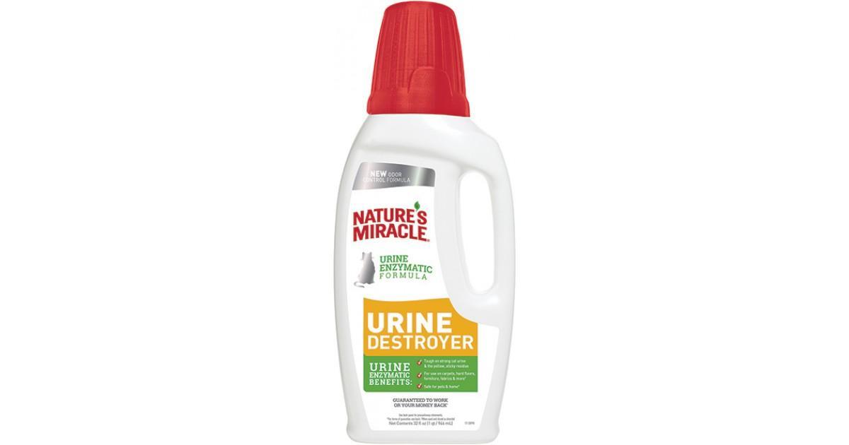 Уничтожитель пятен, запахов и осадка от мочи кошек Nature's Miracle Urine Destroyer, 945мл