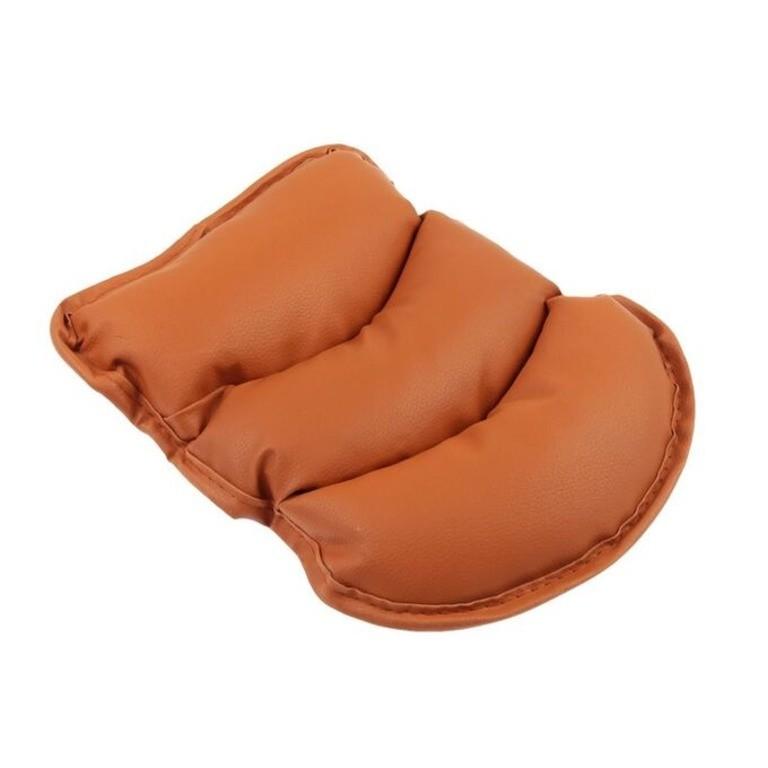 Подушка на подлокотник, коричневый, 25 x