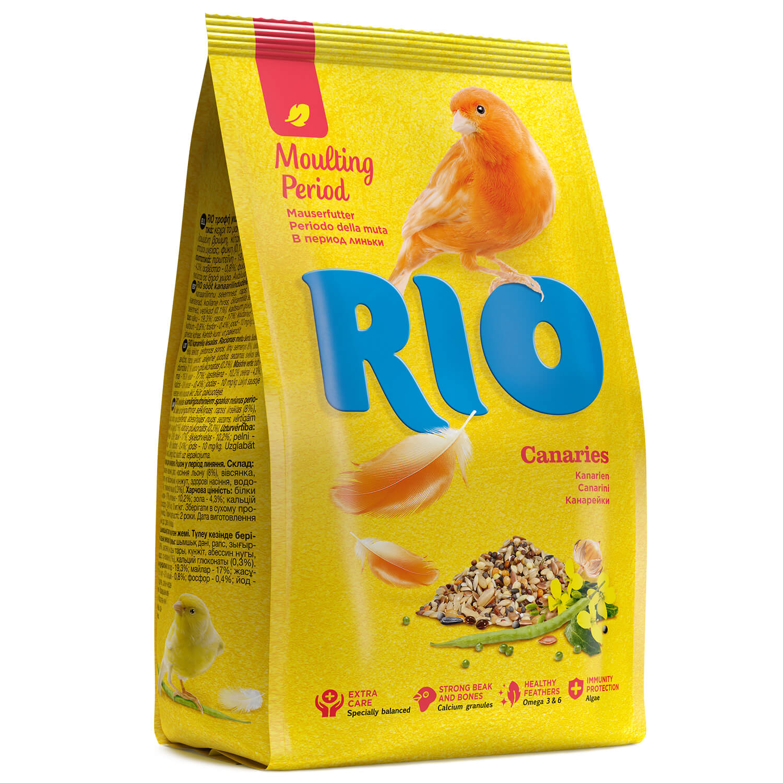 Корм для канареек RIO Canaries в период